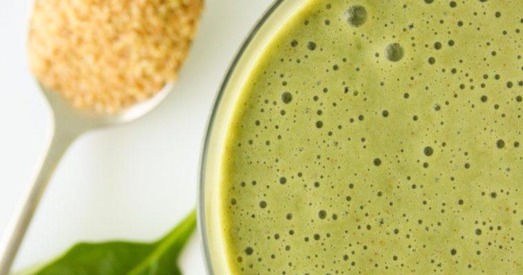 Green smoothie aka Dinosaur smoothie